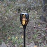 Beau design flamme solaire lumière (26-1F1730)