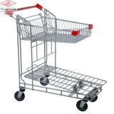 Chariot à main pour l'entrepôt avec le chariot plat à panneau plat