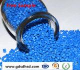 PE/PP blaue Plastikfarbe Masterbatch mit dem 15% Pigment