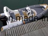 Crogiolo di PVC della barca della nervatura del peschereccio di Liya 6.2m