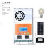 48V/36V/24V/12V MPPT 60A LCD黒いLight+Liの電池の太陽コントローラMPPT-60A