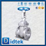精製所のためのDidtekの手動ハンドルのフランジのステンレス鋼Ck20のゲート弁