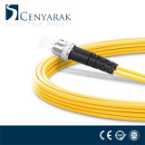Cuerda de corrección óptica a dos caras unimodal de fibra LC-St