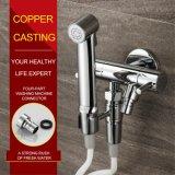 Insieme termostatico dell'acquazzone di pioggia degli accessori fissati al muro eleganti della stanza da bagno
