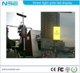 Alumbrado público poste (P5mm) de la publicidad al aire libre de 55 de la pulgada series del iPhone