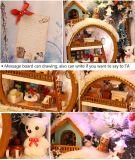 2017 niños de madera de la Serie Dollhouse juguete DIY