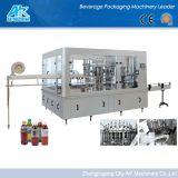 Botella Pet de zumo de naranja de fabricación de máquinas de llenado