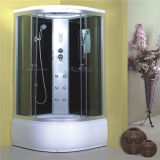Sitio de cristal 90X90 de la ducha europea de la esquina de la alta calidad en venta