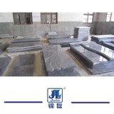 유럽 주문을 받아서 만들어진 까만 대리석 화강암 돌 기념물, 화강암 묘지를 위한 중대한 교차하는 묘비/묘석