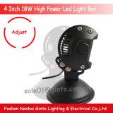 4inch LED Arbeits-heller Stab für das Auto-Motorrad 4X4 nicht für den Straßenverkehr (GT3400-18W)