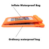 Playa flotante inflada que nada el bolso de la célula impermeable/del teléfono móvil