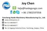 油圧回転ヘッド織物の打抜き機