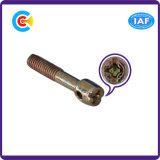 Tornillo electrónico de la pista plana de la combinación del terminal de componente del ventilador cruzado del sello