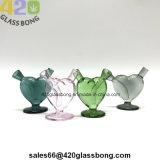 High-End de MiniWasfles Sweatheart van Waterpipes van het Glas voor Tabak 420 de Gift van de Meisjes van de Rook