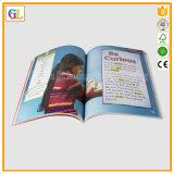 Impression de livre d'enfants de livre À couverture dure et de livre broché