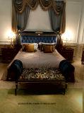 لمعان عال يدهن كلاسيكيّة ملكيّة أسلوب سرير غرفة تجميع
