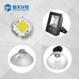 Shenzhen fábrica LED 3000K branco quente CCT espiga de alta potência LED 50W