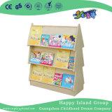Escola Sites Duplo de Madeira estante de livros (HG-4605)