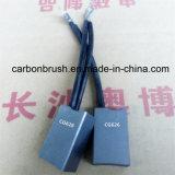 Angebende Kohlebürste CG626 verwendet im Hochspannungsrutschring