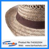 승진을%s 중절모 Trilby Nutural 밀짚 여름 모자