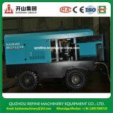 Kaishan BKCY-12/10 de remolque de cuatro ruedas con motor Diesel compresor de aire giratoria