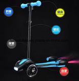 Luz de LED de 3 rodas Scooter de Foguetes do pulverizador para as crianças apenas