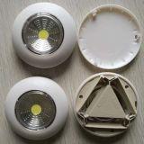 Venta caliente COB Luz LED táctil de la luz de empuje de la luz de las tareas del hogar