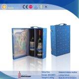 La impresión 3D de fantasía dos botellas de vino Caja (6496)