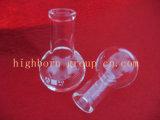 Vaso de cristal de cuarzo con graduación