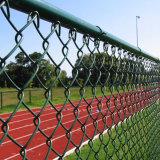 Recinzione rivestita di collegamento Chain di /Stadium del campo da giuoco della polvere d'acciaio
