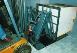 Las hojas de plástico de HDPE con carretilla elevadora push-pull