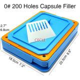 200 отверстиями размером 0 капсула капсула с заливной горловины наливного машины Food Grade пластину приспособления