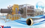Gaine de la ligne d'extrusion de polyéthylène pour tuyau Pre-Insulated avec la mousse de polyuréthane