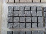 Steen van uitstekende kwaliteit van de Kubus van het Graniet 10X10 van de Straatsteen de Lichtgrijze