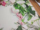 Papel de parede traseiro da tela da colagem com impressão feita sob encomenda da arte -final