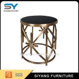 ミラーの家具のステンレス鋼の側面のコーヒーテーブル