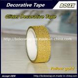 Los colores de cintas decorativas multifunción Glitter Glitter cinta adhesiva 1,5cm*3m, 10 colores/Set