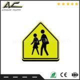 알루미늄 경고 표시 도로 안전 교통 표지