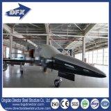 Schnelles Aufbau-Zwischenlage-Panel-Dach-vorfabrizierter Stahlkonstruktion-Flugzeug-Hangar