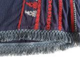 Летом повседневный стиль ослабление довольно дамы верхней части бака с вышивкой дизайн для женщин