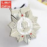 Medalhão Running do metal do espaço em branco do esporte da raça feita sob encomenda barata da impressão do metal