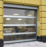 Portello automatico di vetro ambientale laminato bianco rivestito del garage della polvere