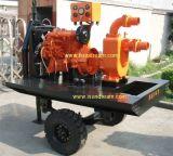 A irrigação agrícola de alta capacidade da bomba de água de gasóleo, a bomba de água de irrigação agrícola