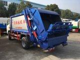 De Collector van het Afval van Dongfeng 4X2 perste de Vrachtwagen van het Vuilnis van de Vuilnisauto van het Kompres van de Pers van 14 M3 samen