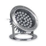 indicatore luminoso subacqueo della fontana della piscina della lampada di 18watt IP68 LED