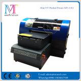 2017 Nuevo formato de pequeña impresora de inyección de tinta UV con lámpara de LED