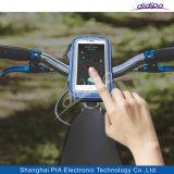 Accessoires de téléphone mobile de caisse de support de sac de DEL pour des sports en plein air Rding