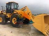 構築機械幼虫のローダー工学装置のオリジナル日本のための使用されるか、または中古猫966hの車輪のローダー