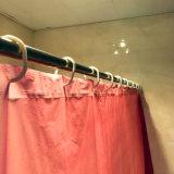 목욕탕을%s 보통 빨간 강선 PEVA 샤워 커튼