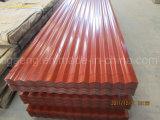 Piatto di tetto d'acciaio differente di colori Dx51d PPGI